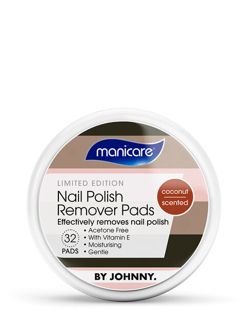 Limited Edition Nail Polish Remover Pads - By Johnny