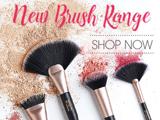 New Glam by Manicare Cosmetic Brushes