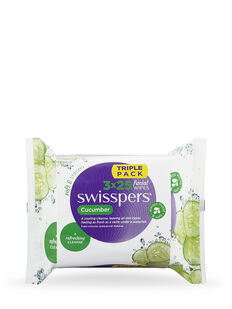 Cucumber Facial Wipes 3x25 pack