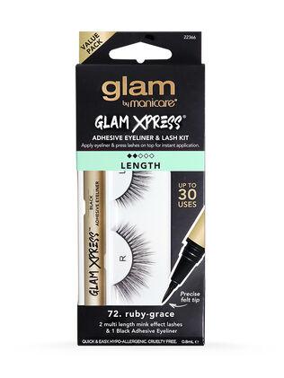72. Ruby-Grace Glam Xpress® Adhesive Eyeliner & Lash Kit