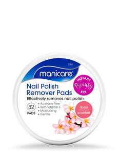 Nail Polish Remover Pads - Floral