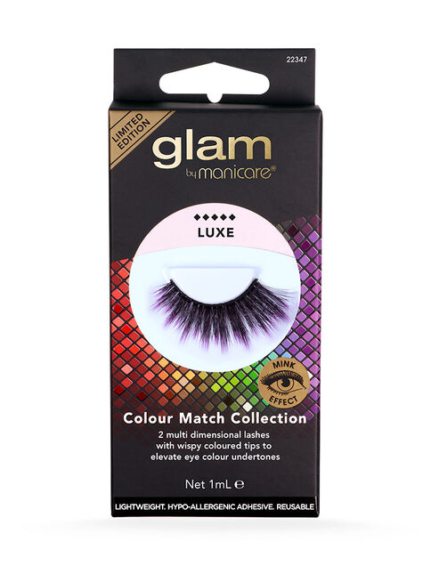 Luxe Colour Match Lashes - Blue