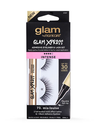 73. Mia-Louise Glam Xpress Adhesive Eyeliner & Lash Kit