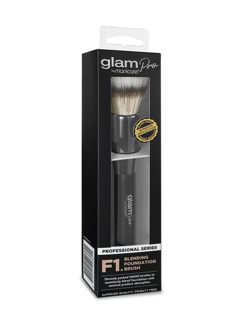 Glam by Manicare® Pro F1. Blending Foundation Brush