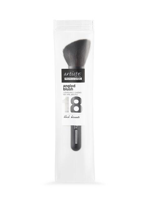 Short Handle Slanted Blush Brush