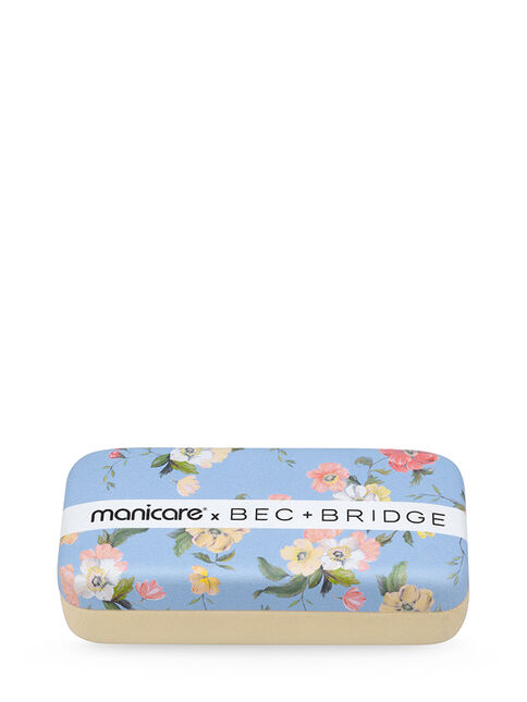 Limited Edition 5 Piece Grooming Kit - Blue Floral