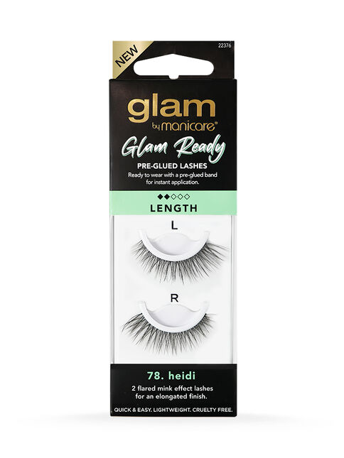 78. Heidi Glam Ready Pre-Glued Lashes