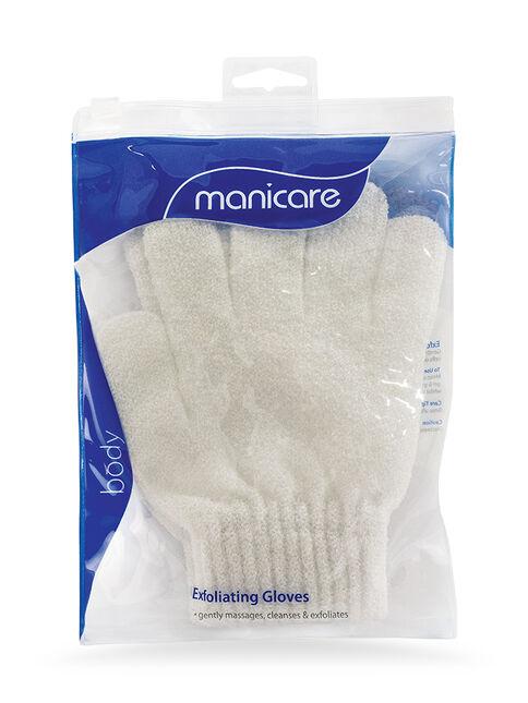 White Exfoliating Gloves