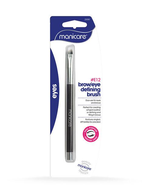 E12 Brow-Eye Definer Brush