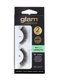 50. Sophia Mink Effect Lashes 2 Pack