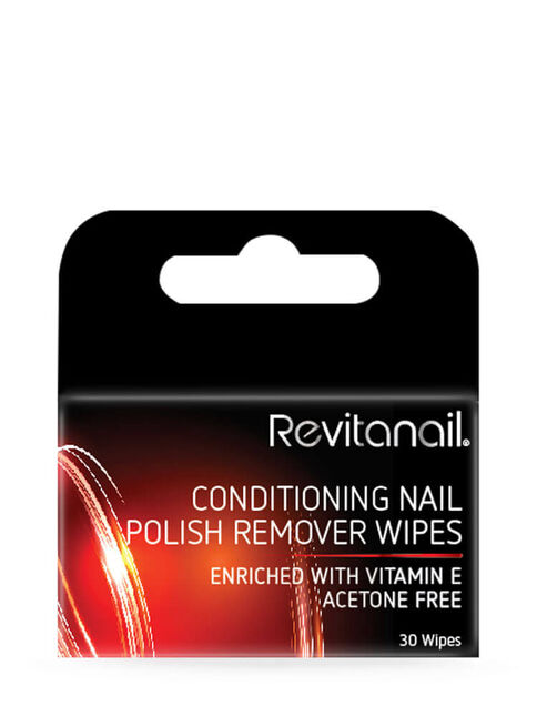 Conditioning Nail Polish Remover Wipes 30pk