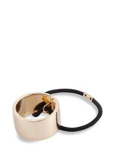 Gold Metal Ponytail Cuff