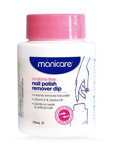 Acetone Free Nail Polish Remover Dip 75mL