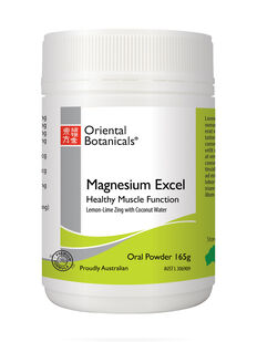 Magnesium Excel Powder Lemon-Lime Zing