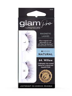 Glam by Manicare® 64. Willow Magnetic Lashes