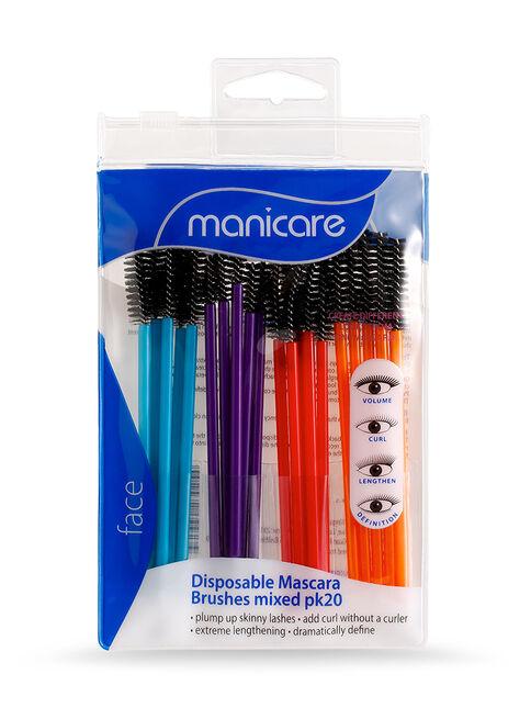 Mixed Mascara Brushes