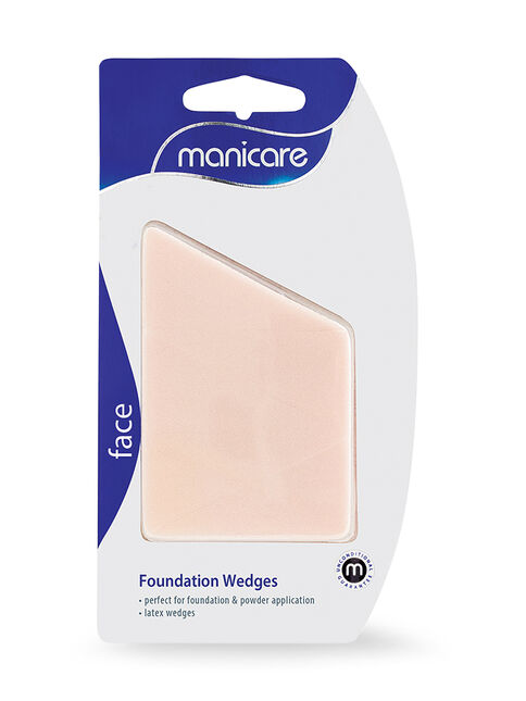 Foundation Sponges, Latex Wedges, 5 Pack