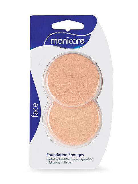 Foundation Sponge, Compact Latex, 2 Pack