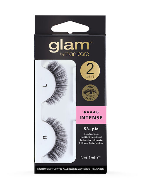 53. Pia Mink Effect Lashes 2 Pack