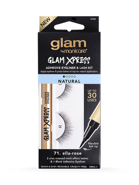 71. Ella-Rose Glam Xpress Adhesive Eyeliner & Lash Kit